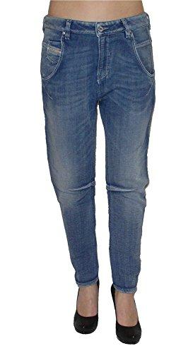 Diesel Damen Stretch Jogg Jeans FAYZA 0800H Boyfriend blau (W32)