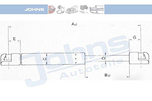 JOHNS gaz pour appareils portatifs 95-91 55/08 (par opposition aux cales)