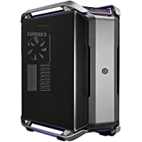 Cooler Master COSMOS C700P E-ATX Full-Tower with RGB lighting, Dual-Curved Tempered Glass side panel aluminum handles, removable M/B tray, inversed layout option 420mm radiator support Model MCC-C700P-MG5N-S00
