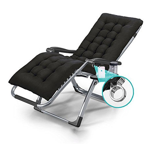QIDI Chaise Longue Simple Métal Haut-80cm (Couleur : Style 1)