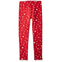 OVS Girl's 191LEG022B-230 Trousers, Red (Lollipop 1201), 5-6