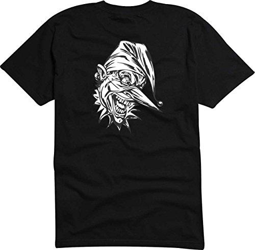 T-Shirt Herren monster lange Nase Digital