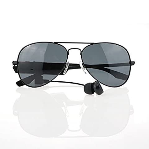 Ultra Edition K3-A Pilot Style Bluetooth Designer Sports Sunglasses with