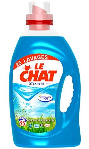 LE CHAT - Lessive - L'expert - Souffle de fraicheur - 1.875L - 1.875