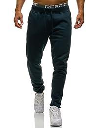 BOLF - Pantalons de sport – jogging pantalons – Motif 6F6 – Homme