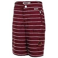Maloja pantalones cortos de deporte bicicleta Short sidb. Rojo polystretch Ajuste Relajado sidb 6209 - Rojo, 128-134