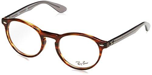 Ray-Ban Unisex-Erwachsene Brillengestelle 5283, Schwarz (Negro), 51 (Wayfarer Rx Ray-ban)