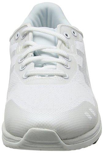 Asics  Gel-Lyte Evo, Sneakers Basses Unisexe adulte Blanc - White (White/Black 0190)