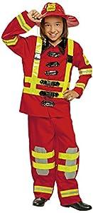My Other Me Me-200911 - Disfraz de bombero para niños, Talla  7-9 años