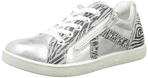 Primigi Mädchen Xena Sneaker Silber - Argent (S Lam Nuv/Scam  Argento/Perla)