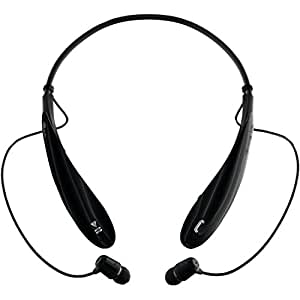 LG Electronics Tone Ultra HBS-800 Bluetooth Stereo Headset - Retail Packaging - Black. Great for iPhone 6, 5S & Galaxy