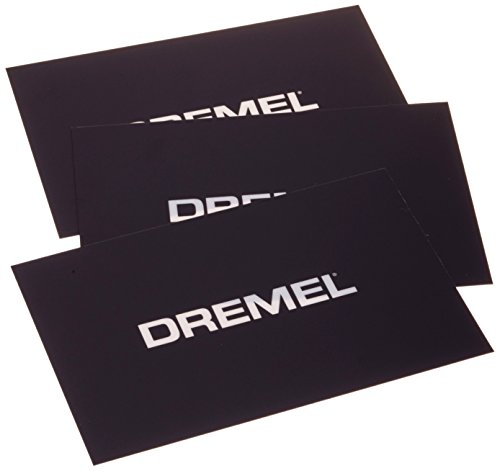 Dremel 2615BT01JA Lot de 3 Films d'impression pour 3D20