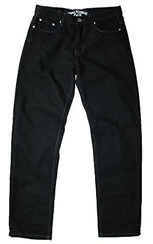 Urban Republic men's comfort fit black jean, 34W 32L