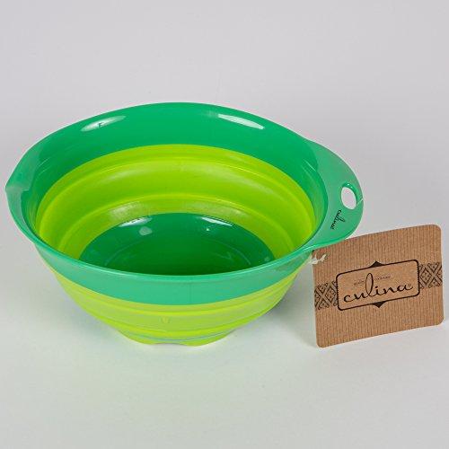 Culina® Saladier vert ovale 24 X 22 cm