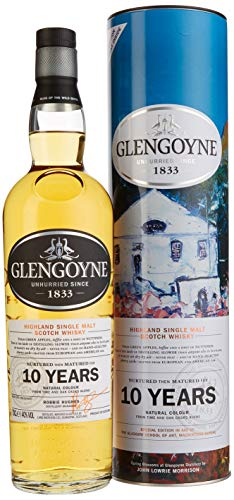 Glengoyne Single Malt Whisky 10 Jahre in Dose (1 x 0.7 l)