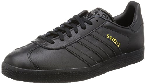 adidas Originals Gazelle Bb54, Scarpe Running Unisex - Adulto, Nero (Core Black/Core Black/Gold Met,), 44 EU