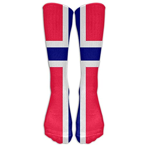 DGHKH Orthodox Norwegian Flag Unisex Funny Casual Athletic Warm Winter Crew Socks for Women for Men