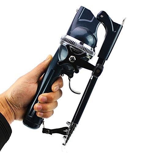 Cosy-TT Einteilige Faltbare Angelrute eingebautes Rad in Sich geschlossene Angelschnur, tragbare super Harte ultraleichte Angelrute, Salzwasser und Süßwasser Angelruten