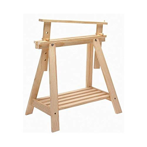 ASTIGARRAGA Kit Line - Caballete Pino Archi Tec de madera, regulable altura, con  - 70 x 45 x 70 cm