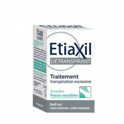 Etiaxil detranspirant sudo-régulateur aisselles pour peaux sensibles bille 15ml Etiaxil