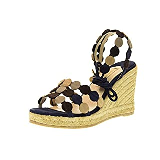 Paloma Barcelo' Sandals Women Shoes with Wedge ALCO SUEM Size 40 Blu Multi