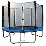 ATAA Cama elástica Infantil 250 - Azul Cama elástica para niños Muy Resistente y Segura. Apta para Exteriores y Jardines 2,50