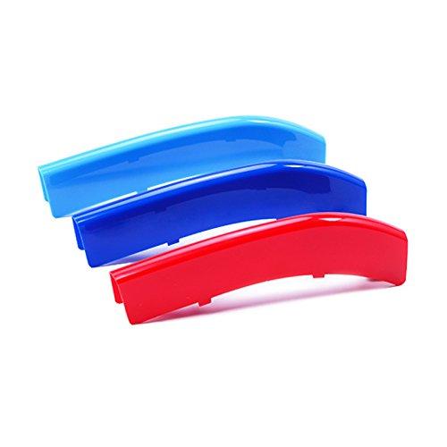 3D Farbe Frontgitter Grills Trim Streifen Abdeckkappe Aufkleber für F10 F11 (Farbe Trim-snap)