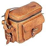 #8: CP Leather vintage handcrafted DSLR camera bag / shoulder bag