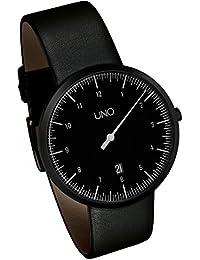 Se trata de UNO 40 negro - UNO de los hombres de la mano de la edición del reloj por Botta-diseño, 219012BE__
