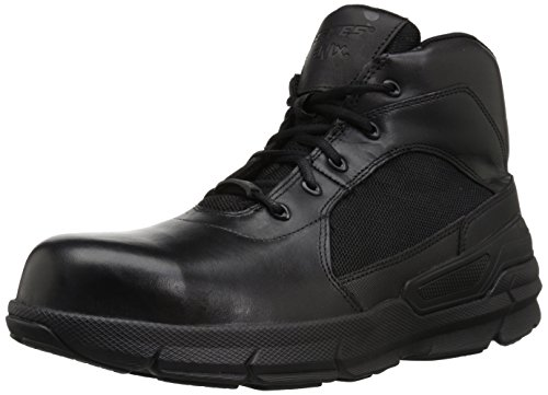 Bates Mens Charge 6 Composite Toe Black Leather Boots 44 EU Bates Composite-boot