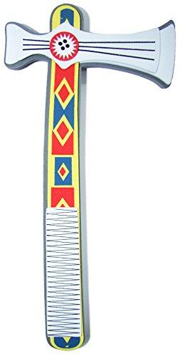 Schaumstoff Tomahawk 26 cm zum Indianer Kostüm (Kostüm Tomahawk)