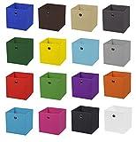 2er Set Pink Faltbox 28 x 28 x 28 cm Aufbewahrungsbox faltbar