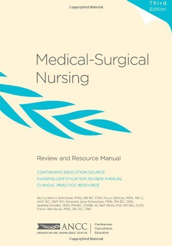 Medical-Surgical Nursing Review and Resource Manual by Nancy Batchelor (2011-11-04)