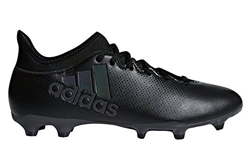 adidas X 17.3 FG, Scarpe da Calcio Uomo, Nero (Cblack/Cblack/Supcya Cblack/Cblack/Supcya), 40 2/3 EU