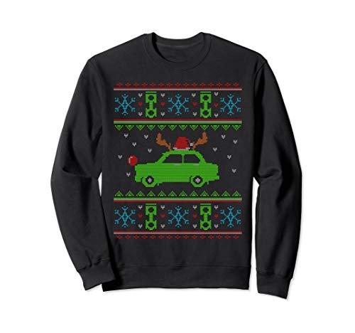 Weihnachtsoutfit Trabant 601 Weihnachten Trabi Sweatshirt