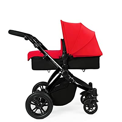 Ickle Bubba Stomp V2 All-in-One Travel System, Red on Black
