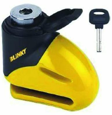 Blinky 2688810 lucchetti bloccadisco, con chiave, 5.5 mm