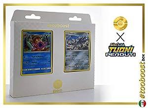 Steelix 125/214 Y Slowking 55/214 - #tooboost X Sol E & Luna 8 Tuoni Perduti Box de 10 Cartas Pokémon Italiano + 1 Goodie Pokémon