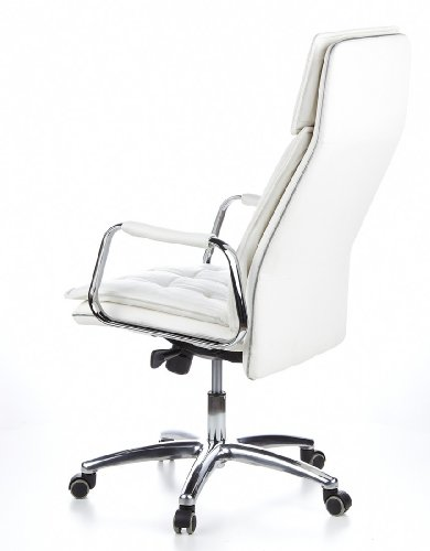 HJH OFFICE 600922 Bürostuhl / Chefsessel VILLA 20 Nappaleder elfenbein - 11