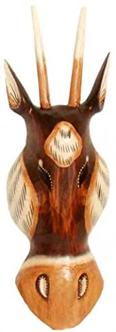 Antelope Mask 30 CM Wooden Mask Bali