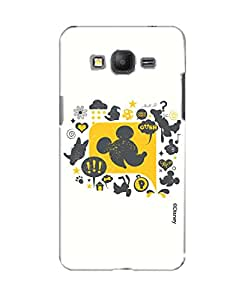 Pick Pattern with Exclusive DISNEY Characters Back Cover for Samsung Galaxy Grand Prime