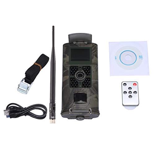 LouiseEvel215 HC-700G 3G Cámara de la Pista de Caza Cámara Salvaje GPRS Visión nocturna para la cámara de Caza Con trampa de Fotos de animales incorporada 2.0