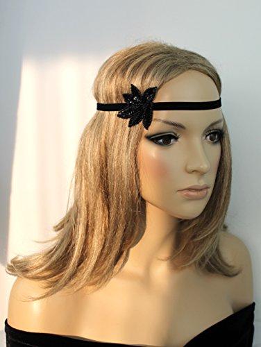 Haarschmuck Haarband Vintage 20er Jahre Flapper Stirnband Kopfschmuck