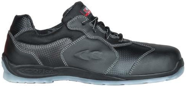 Cofra 11460 – 000.w46 zapatos,Blackett, S1 P SRC, tamaño 11, negro/azul