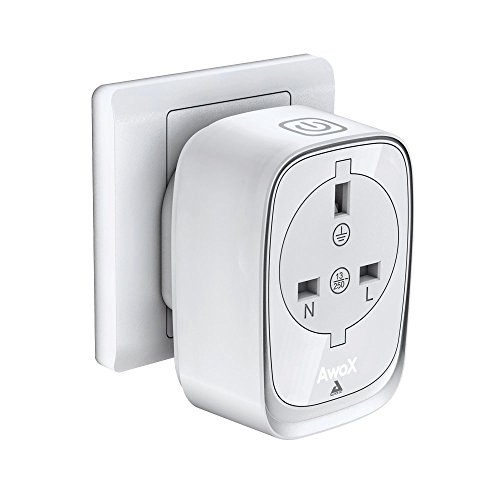awox-smp-b16-uk-smart-plug-socket-adapter-with-bluetooth-control-plastic-white
