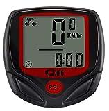 Sunding SD 548 B 14 Function Waterproof Bicycle Computer Odometer Speedometer by Robostore