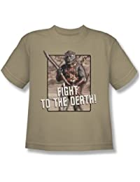Star Trek - Youth To The Death T-Shirt In Sand