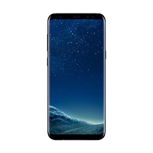 """Samsung Galaxy S8 Plus - Smartphone libre de 6.2"""" QHD+ (4 G, Bluetooth, Octa-Core S, 64 GB memoria interna, 4 GB RAM, camara de 12 MP, Android, versión española) negro"""