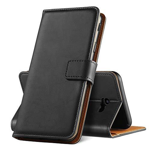 GeeRic Für Samsung Galaxy J4 Plus 2018 Hülle, [Standfunktion] [Kartenfach] [Magnet] [Anti-Rutsch] PU-Leder Schutzhülle Brieftasche Handyhülle für Samsung Galaxy J4 Plus 2018
