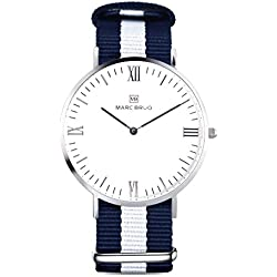 Marc Brüg Men's Minimalist Watch Bali 41 Hygge